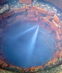 Гидродинамическая прочистка труб канализации в Минске